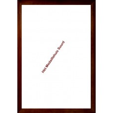 Donkere houten Lijst