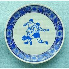 Wandbord Delfts blauwe bord D