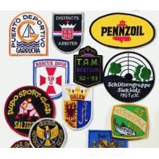 Geborduurde emblemen