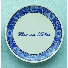 Wandbord Delfts blauwe bord A