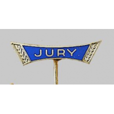 Emaille JURY-insigne